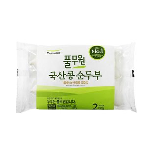 풀무원_국산콩순두부350g*2입