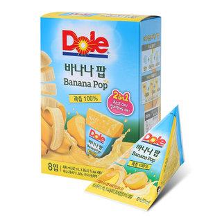 H)Dole 후룻팝 바나나(62ml*8)