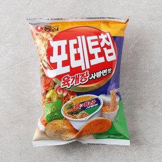 농심_포테토칩육개장사발면맛_60G