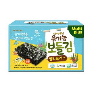 아이배냇_유기농보들김멀티플러스_36G