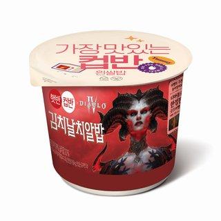 CJ_햇반컵반김치날치알밥_188G