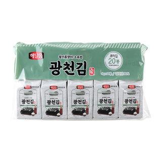 광천김 180매(9매_20봉)