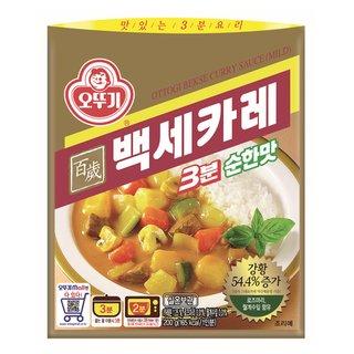 오뚜기_3분백세카레순한맛_200G
