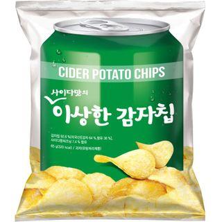 _사이다맛의이상한감자칩_65G