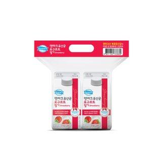 덴마크 유산균요구르트 딸기 450ML*2