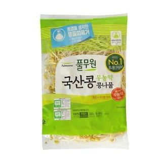 풀무원_무농약안심콩나물_340G