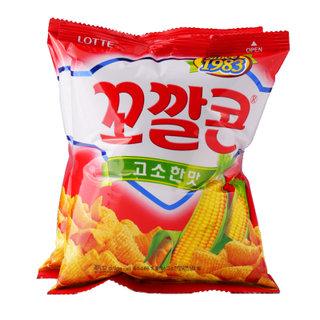 ST)롯데_꼬깔콘고소한맛3번들_96G