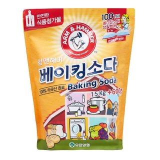 유한양행 New암앤해머베이킹소다리필 1.5KG