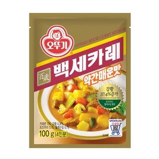 오뚜기_백세카레약간매운맛_100G