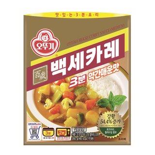 오뚜기_3분백세카레약간매운맛_200G