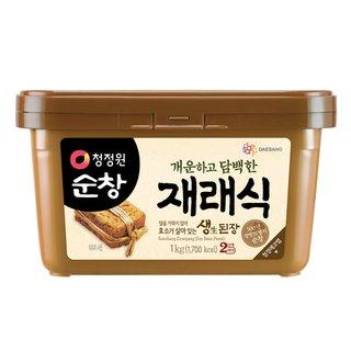 대상_청정원순창재래식안심생된장_1KG