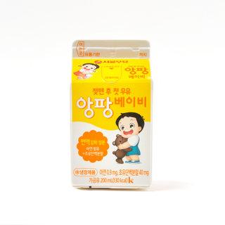 서울 헬로우앙팡베이비우유 200ML