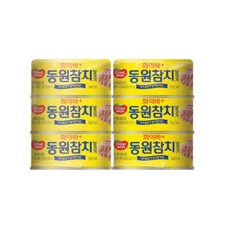 동원 화이바참치 150G*6