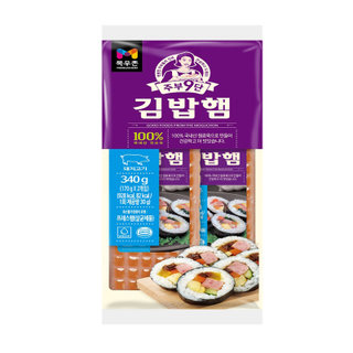 농협목우촌 주부9단김밥햄 340G