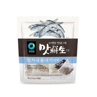 대상_청정원맛선생멸치국물내기티백_80G