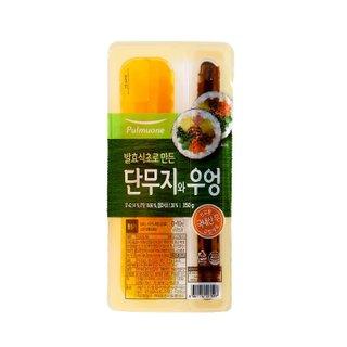 찬김밥용단무지와우엉_350G_풀무원