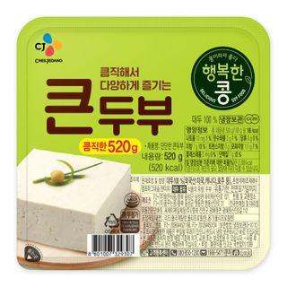 씨제이_맛있는콩큰두부_520g