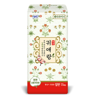 바디피트 귀애랑라이너 일반75매