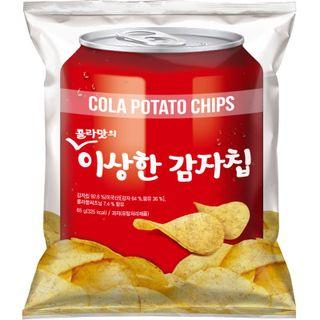 _콜라맛의이상한감자칩_65G