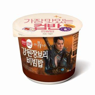 CJ 햇반컵반 강된장보리비빔밥 280G