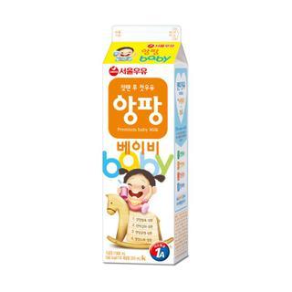 서울 헬로우앙팡베이비우유 1L