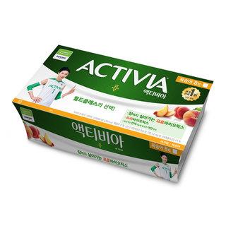 풀무원다논_액티비아컵8입기획(복숭아)_80g*8