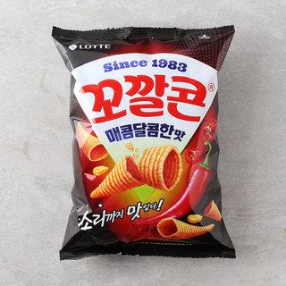 롯데_꼬깔콘매콤달콤맛_144G