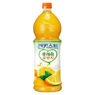 해태음료 썬키스트후레쉬오렌지50% 1.5L
