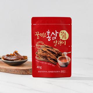 꿀먹은홍삼말랭이 40G(봉)