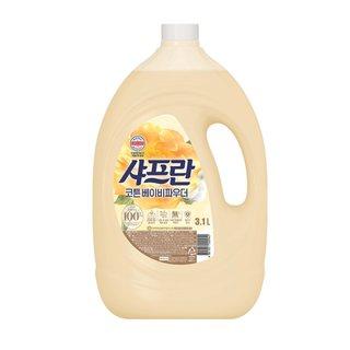 LG생활건강 샤프란로맨틱코튼용기 3L