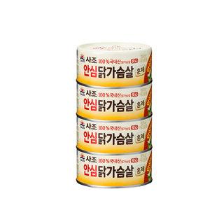 사조 리얼훈제닭가슴살 135G*4