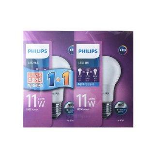필립스 LED램프 11W 주광색 1+1(기획상품)