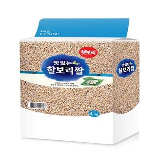 찰보리쌀 4KG