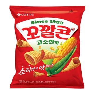 롯데_꼬깔콘고소한맛_155G