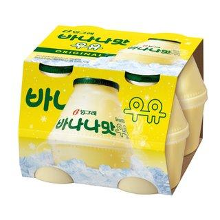 빙그레_바나나맛우유_240ML*4
