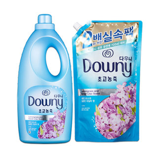 H)P&G 다우니레몬그라스와달콤한라일락향기획팩 2L+1.6L