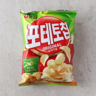 농심_포테토칩오리지널대_125G