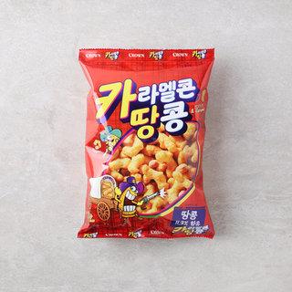 크라운_카라멜콘과땅콩_72G