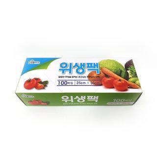 천원)위생백25*35_100매
