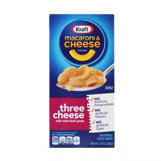 Kraft_마카로니앤치즈쓰리치즈_206G