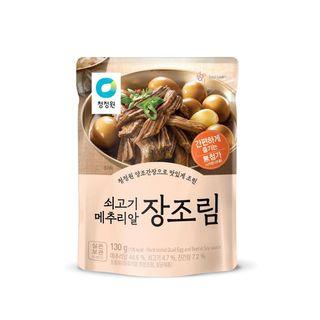 대상종가집_쇠고기메추리알장조림_130G