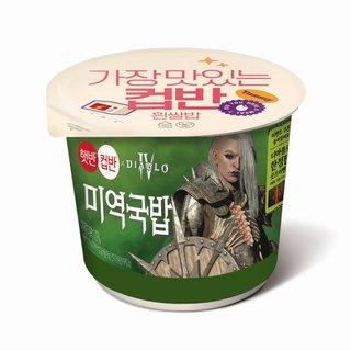 CJ 햇반컵반 미역국밥 167G