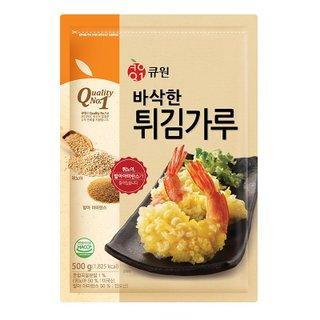 삼양사 큐원슈퍼곡물튀김가루500G