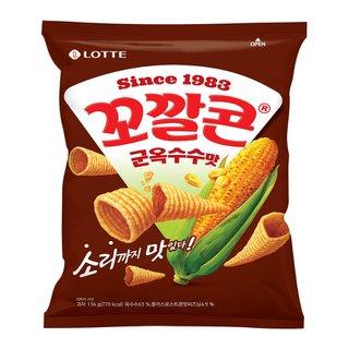 롯데_꼬깔콘군옥수수맛_155G