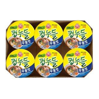 오뚜기_컵누들우동맛_38.1G*6입