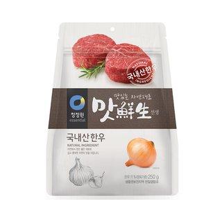 대상_청정원맛선생소고기_250G