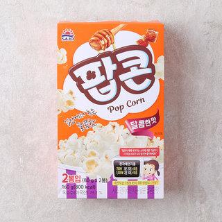 사조_로하이팝콘달콤한맛_90g*2