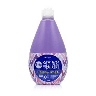 LG생활건강 한입식초액체세제(드럼용) 2.4L