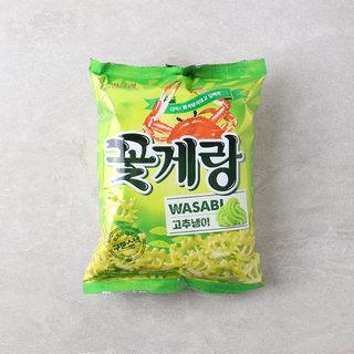 크라운_꽃게랑와사비_70G