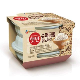 CJ_햇반 슈퍼곡물 퀴노아밥_180G*3
